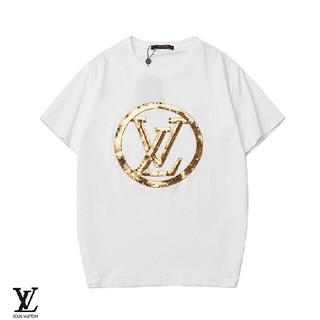 ルイヴィトン(LOUIS VUITTON)のLOUIS VUITTON ホワイト 着心地よい 日常用 Tシャツ(Tシャツ/カットソー(半袖/袖なし))