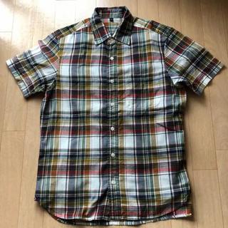 ムジルシリョウヒン(MUJI (無印良品))の無印良品  半袖マドラスチェックシャツ  S(シャツ)
