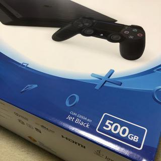 PlayStation4 - 新品 PlayStation4 ジェットブラック 500G