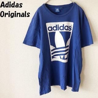 アディダス(adidas)の【人気】アディダスオリジナルス ビッグロゴプリントTシャツ サイズO(Tシャツ/カットソー(半袖/袖なし))
