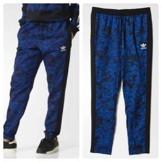 アディダス(adidas)の希少 adidas × Farm BLUE FLORAL TRACK PANTS(その他)