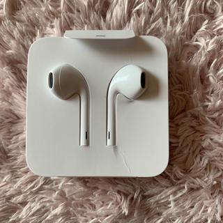 アップル(Apple)のiPhone 付属 純正 イヤホン 未使用品(ヘッドフォン/イヤフォン)