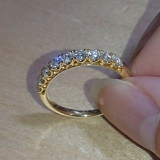 タサキ(TASAKI)のTASAKI ダイヤモンド エタニティリング ダイヤ エタニティ  K18(リング(指輪))