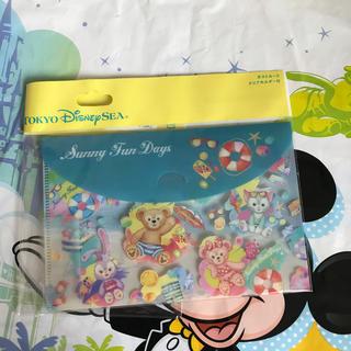 Disney - 新作 ディズニー♡ダッフィー  サニーファン  クリアホルダーのみ ポストカード