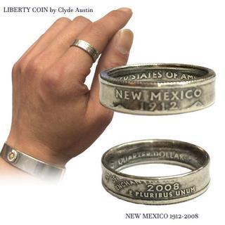 元祖リバティコインリング クライドオースティン作 NEW MEXICO 18号(リング(指輪))