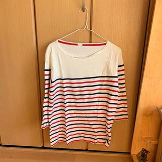 ジーユー(GU)のGU7分丈Tシャツ(Tシャツ/カットソー(七分/長袖))
