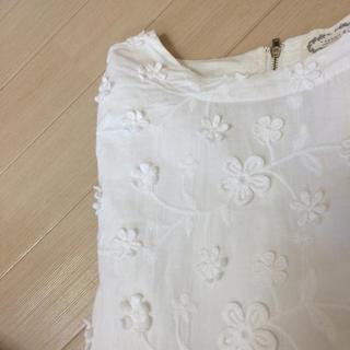カワイイ(cawaii)のcawaii ◯カワイイ◯お花モチーフカットソー◯(カットソー(半袖/袖なし))
