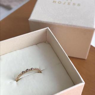 ノジェス(NOJESS)のノジェス♡イエローゴールドK10ダイアモンド(リング(指輪))