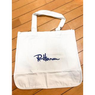 ロンハーマン(Ron Herman)の新品未使用 ロンハーマン  トートバッグ バック かばん ホワイト ハンドバッグ(トートバッグ)
