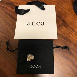 アッカ(acca)のaccaクリップ(バレッタ/ヘアクリップ)
