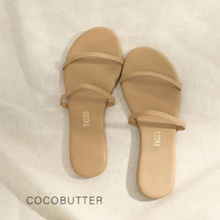 UNITED ARROWS - TKEES  サンダル COCOBUTTER