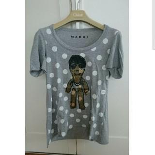 ミナペルホネン(mina perhonen)のマルニMARNIパペットTシャツ美品マリメッコ(Tシャツ(半袖/袖なし))