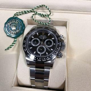 ROLEX - ロレックス デイトナ 116500LN 最新モデル 新品未使用 メンズ腕時計 デ