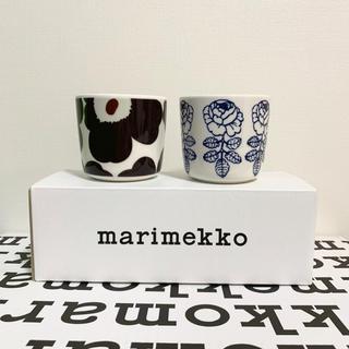 マリメッコ(marimekko)のmarimekko マリメッコ 完売UNIKKOラテマグ 2点 新品送料込(グラス/カップ)
