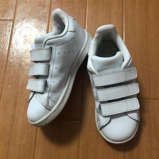 adidas - adidas アディダス スタンスミス キッズ 16センチ ホワイト 人気