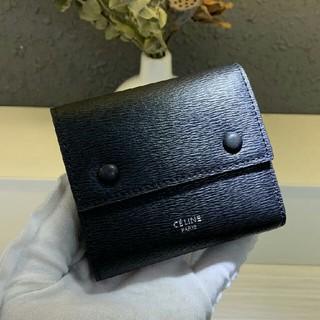 セリーヌ(celine)のceline セリーヌ 折り財布 カードケース 男女通用 ブラック(折り財布)