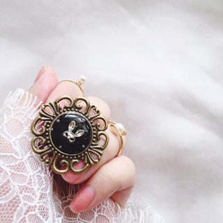 アンティーク ラビット リング ( 8 ) 指輪(リング(指輪))