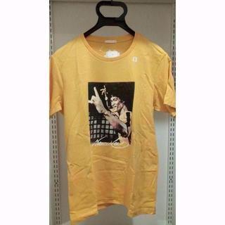 ジーユー(GU)の新品 ブルースリー × ジーユー S 黄 Tシャツ GU(Tシャツ/カットソー(半袖/袖なし))
