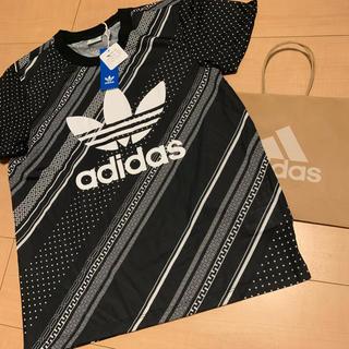 アディダス(adidas)のアディダス ブラック Tシャツ S(Tシャツ/カットソー(半袖/袖なし))