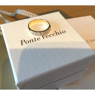 ポンテヴェキオ(PonteVecchio)のPonte Vecchio ポンテヴェキオ ダイヤモンド リング K18 11号(リング(指輪))