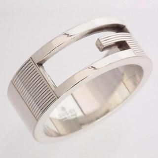 グッチ(Gucci)の定価¥25,920 GUCCI シルバーリング 9号(リング(指輪))