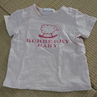 バーバリー(BURBERRY)の美品 バーバリー ベビーシャツ(Tシャツ)