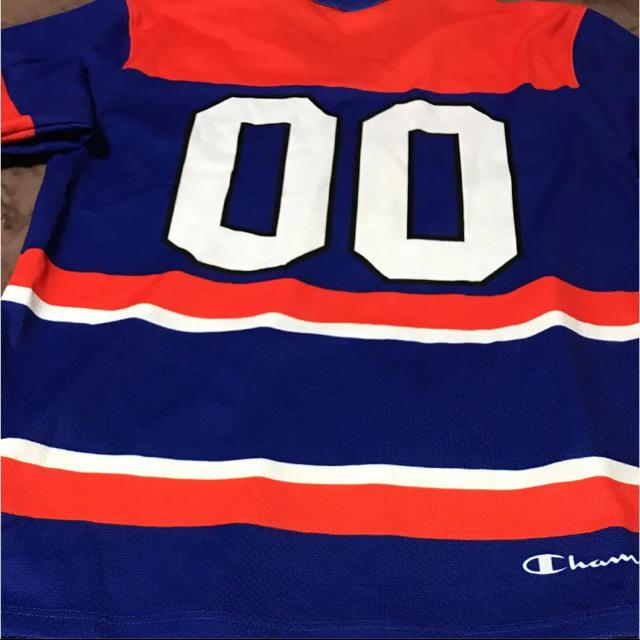 Supreme(シュプリーム)の週末値下げ シュプリーム×チャンピオン ホッケーシャツ メンズのトップス(Tシャツ/カットソー(七分/長袖))の商品写真