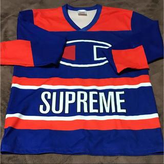 Supreme - シュプリーム×チャンピオン ホッケーシャツ
