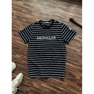 モンクレール(MONCLER)の大人気の美品MONCLER ストライプ半袖Tシャツ(Tシャツ/カットソー(半袖/袖なし))