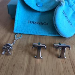 ティファニー(Tiffany & Co.)のティファニー×TOYOTA タイタック+カフス(ネクタイピン)