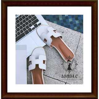 ロゴサンダル Hサンダル フラット 23cm(サンダル)