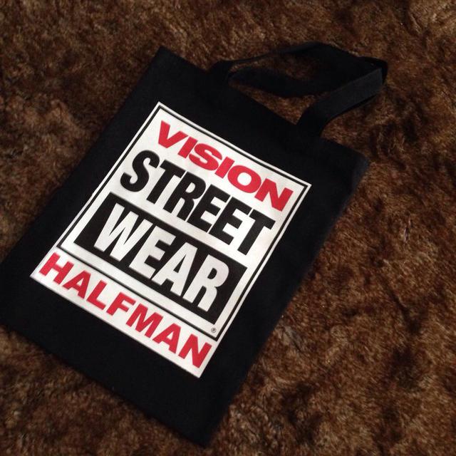HALFMAN(ハーフマン)のHALFMAN VISION レディースのバッグ(トートバッグ)の商品写真
