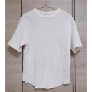 ジーユー(GU)のGU✴︎ワッフルTシャツ✴︎L(Tシャツ(半袖/袖なし))