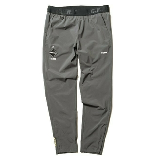 F.C.R.B. -  STRETCH Light WEIGHT EASY PANTS XL GRAY