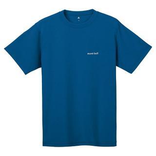 モンベル(mont bell)のモンベル Tシャツ WIC.T ワンポイントロゴ 1114110 ORBL XL(Tシャツ/カットソー(半袖/袖なし))