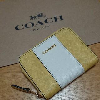 コーチ(COACH)の⭐新品⭐ COACH コーチ コインケース ⭐ イエロー ⭐(コインケース)