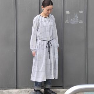 mina perhonen - 未使用☆タグあり ミナペルホネン misty line ドレス ワンピース