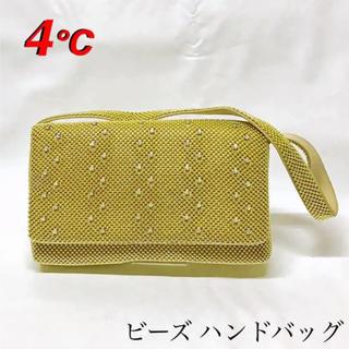 ヨンドシー(4℃)の4°C パーティー バッグ ハンドバッグ【正規品】(ハンドバッグ)