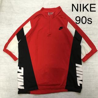 ナイキ(NIKE)の【激レア】 古着 vintage 90s NIKE ナイキ サイクリングシャツ(ウエア)