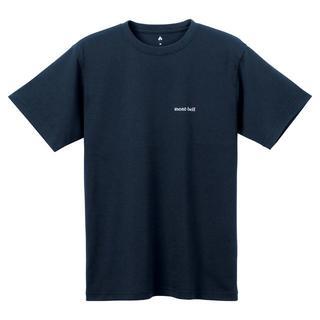 モンベル(mont bell)のモンベル Tシャツ WIC.T ワンポイントロゴ 1114110 DKNV S(Tシャツ/カットソー(半袖/袖なし))