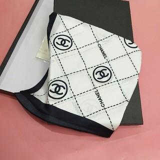 シャネル(CHANEL)のCHANELシャネル 100%シルク スカーフ レディース 19ss新品(バンダナ/スカーフ)