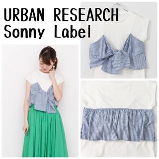 アーバンリサーチ(URBAN RESEARCH)のURBAN RESEARCH Sonny Label カットプルオーバー(Tシャツ(半袖/袖なし))