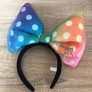 ディズニー(Disney)の【Disney】レインボーミニーカチューシャ(カチューシャ)