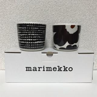 マリメッコ(marimekko)の【新品】marimekko マリメッコ ラテマグ  2個 (グラス/カップ)