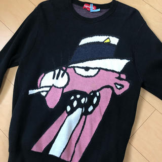 supreme pink panther sweater シュプリーム Sサイズ