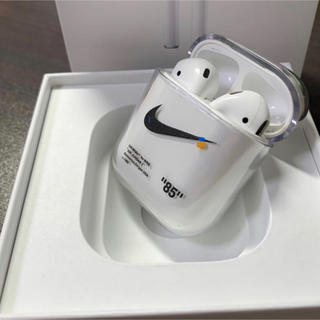 Apple - AirPods ケース Off-White 最安値