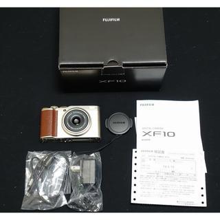 富士フイルム - FUJIFILM 富士フィルム XF10 APS-C 28mm F2.8単焦点