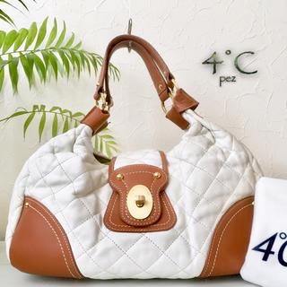 ヨンドシー(4℃)の◇美品◆ 4°C ヨンドシー 約3.2万 レザーショルダーバッグ(ショルダーバッグ)