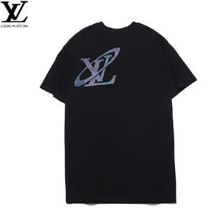 ルイヴィトン(LOUIS VUITTON)の LOUIS VUITTON 個性 綺麗 男女兼用  Tシャツ(Tシャツ/カットソー(半袖/袖なし))