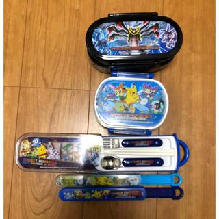 ポケモン - お弁当箱 箸 スプーン セット